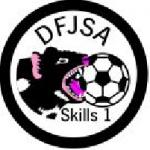 Skills badge 1 white